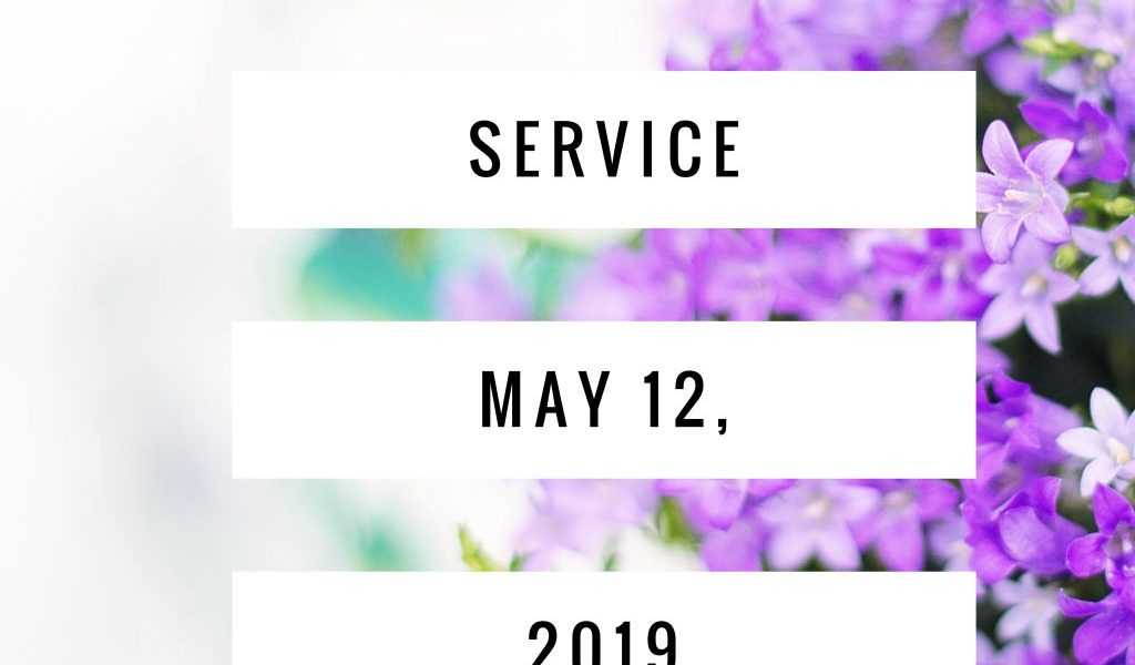 Mother's Day Service (May 12th)
